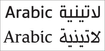 Serif vs sansserif